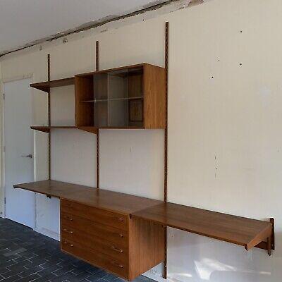 Felballes Mobelfabrik Desk Shelf Panel Kai Kristiansen Teak