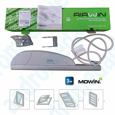 AIRWIN 450N 24V STROKE=350MM Rack for Shed Top-Hung Windows Skylights Domes