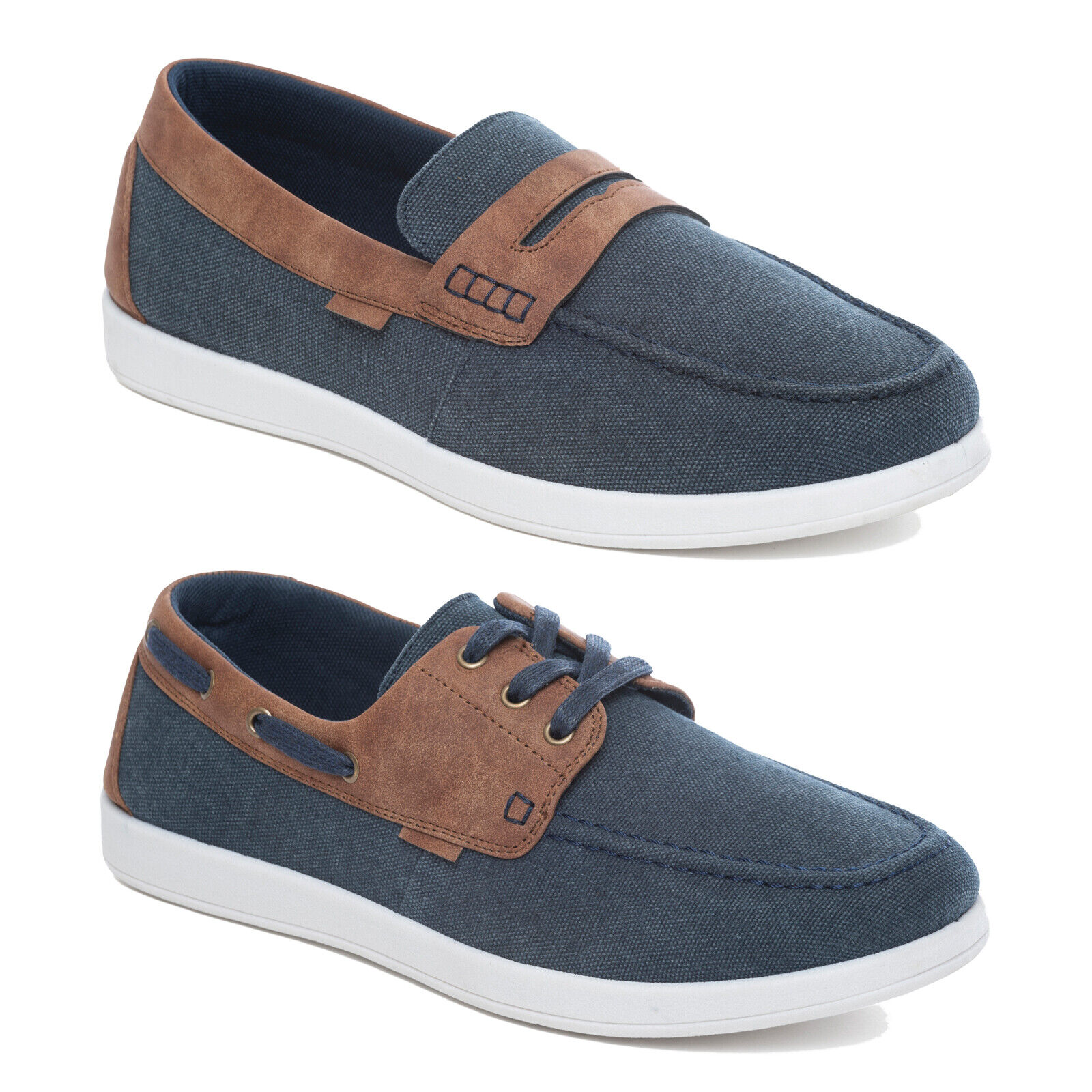 Dr Keller Mens Blue Faux Leather Lace up Casual Smart Comfort Shoe Pump Size 6 7