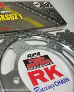 1999-2012 Suzuki SV650 SV650S RK 525 X-Ring Chain and Sprockets Kit