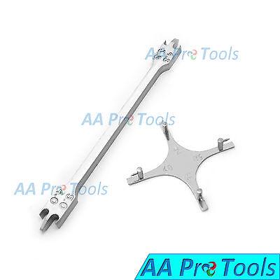 Aa Pro 2 Pcs Dental Orthodontics Height Measure Bracket 022 And Boone Gauge Ins