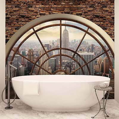 WALL MURAL PHOTO WALLPAPER XXL New York City Skyline Window (2397WS)