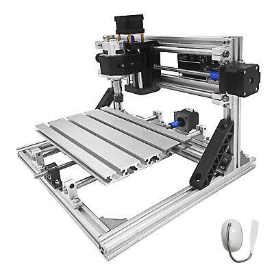 Vevor Cnc 2418 Router Kit 3 Axis Engraving Machine Grbl Control Pvc Wood Plastic