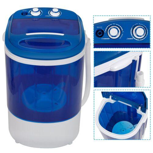 Transparent One-cylinder Washer Washing Machine W/ Double Knobs Timer Control Home & Garden