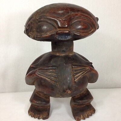 Разное Vintage Carved Pygmee Statue Cameroon