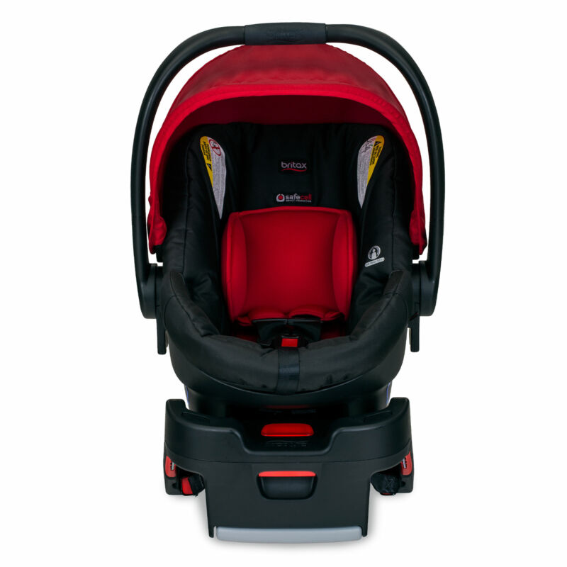 Britax B Safe 35 Rear Facing Newborn Infant Baby Car Seat & Base, Cardinal
