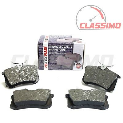 Rear Brake Pads for AUDI A1 + A2 + A3 8L 8P + A4 B6 B7 + A6 4B C5 + TT Mk 1 8N