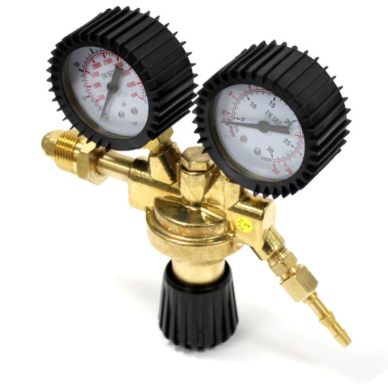 DUAL ARGON CO2 WELDING GAS CYLINDER REGULATOR GAUGES 4 Miller Lincoln Mig Tig