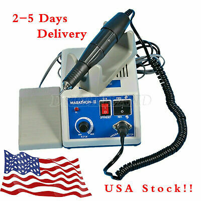New Dental Lab Marathon Electric Micromotor35k Rpm Handpiece Polishing Unit