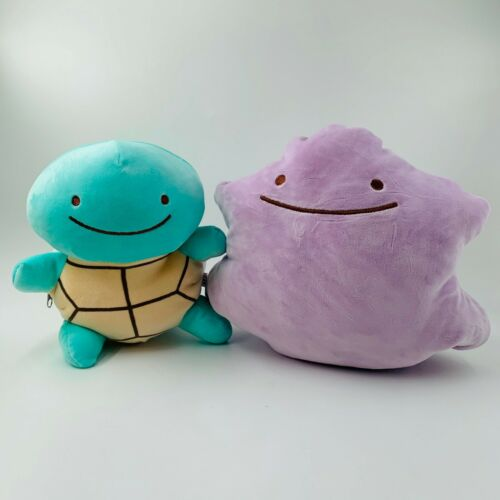 30CM+12%22+Elfin+Squirtle+transfiguration+Ditto+Pillow+Plush+Toy+Stuffed+Doll+Gift