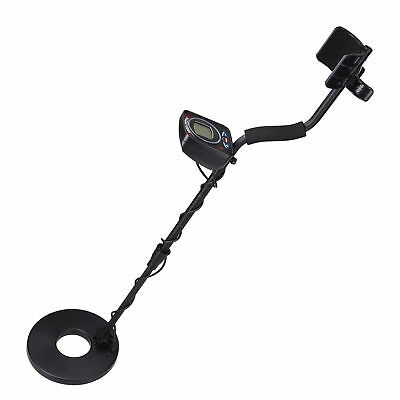 LCD Metal Detector LED Light Sensitive Search Treasure Hunter Waterproof Coil