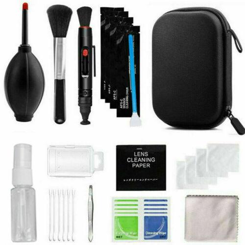 Professional DSLR Camera Lens Cleaning Kit Brush Tools For Sony Canon Panasonic