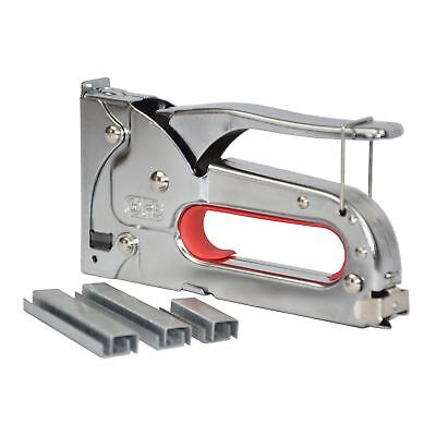- Vinsani Heavy Duty Stainless Steel Metal Staple Tacker Gun with Staples