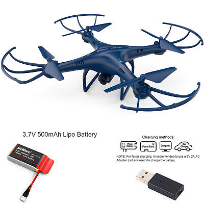 Petrel U42W FPV RC Quadcopter Drone w/HD Camera Exist Video One Key Off / Landing