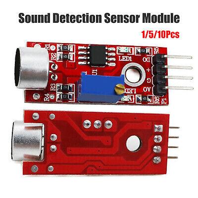 Microphone Sensor Avr Pic High Sensitivity Sound Detection Module For Arduino Us