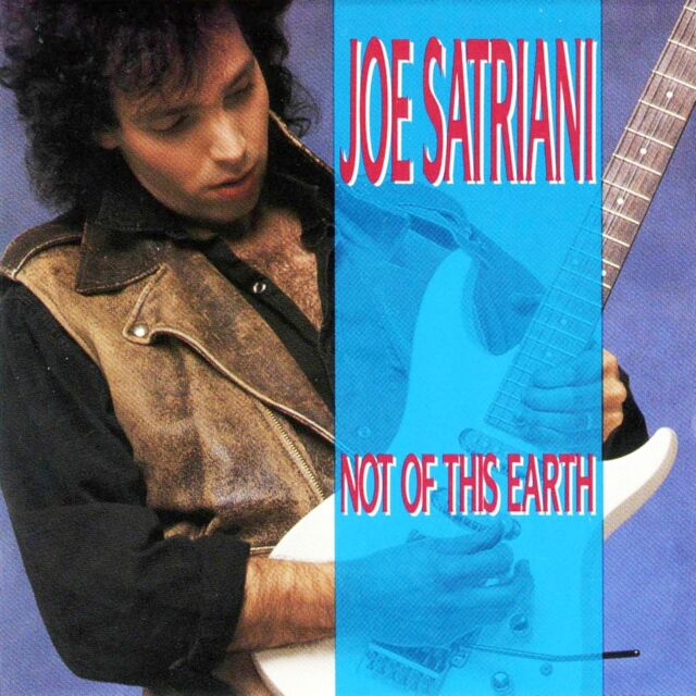 Joe Satriani - Not Of This Earth 180g vinyl LP IN STOCK NEW/SEALED