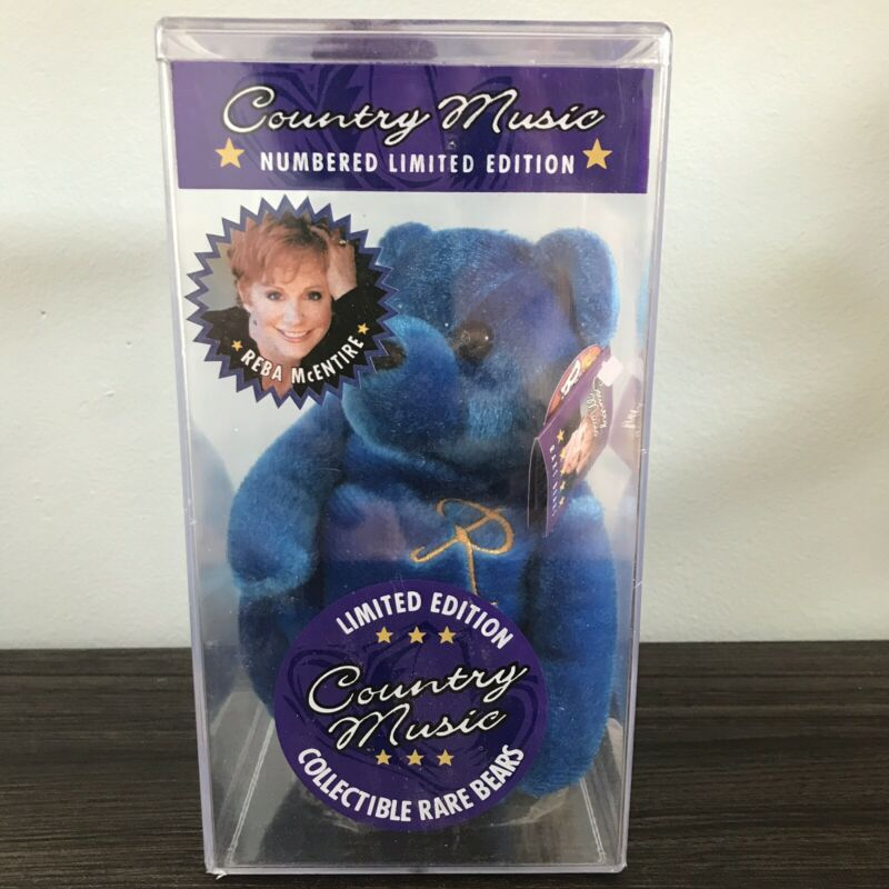 Country Music Rare Bear Numbered Limited Edition Beanie Bear Reba McEntire