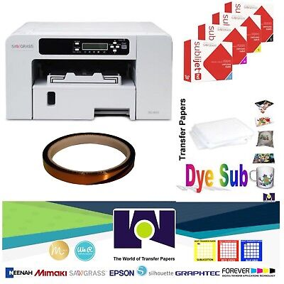 Sawgrass Virtuoso SG400 HD Sublimation System with Free Tape & Transfer  Paper