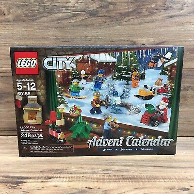 Lego 60155 City Advent Calendar 2017 Factory Sealed New