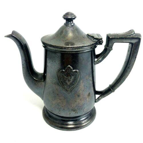 International Silver Co. Silver Soldered Conrad Hilton 8 Oz Teapot SG0392 SB1