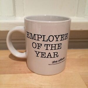 The Office TV Show NBC Employee Of The Year Coffee Mug