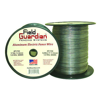 Field Guardian 17ga Aluminum Wire 12 Mile Electric Fence Af1750 814421011695