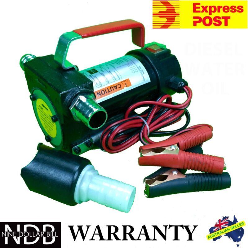 12v Fuel Oil Diesel Transfer Pump Fluid Heavy Duty 40 L/min EXPRESS & WARRANTY