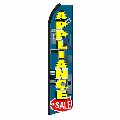 Appliance Sale Advertising Sign Swooper Feather Flutter Banner Flag Only