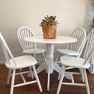 Dining Table and Chairs Long Jetty Wyong Area Preview