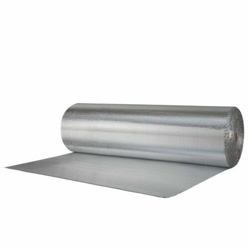 "Reflectix Double Sided Insulation 48"" Metallic Foil Single Bubble 4x10 (R7-21)"