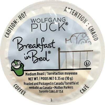 Wolfgang Puck Coffee, Breakfast in Bed (Medium Roast), 24-Count K-Cups for