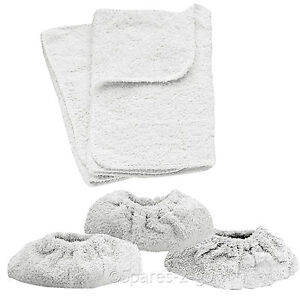 KARCHER Steam Cleaner Hand Tools Terry Cotton Cloth Pad Covers SC1 SC1002 SC1020