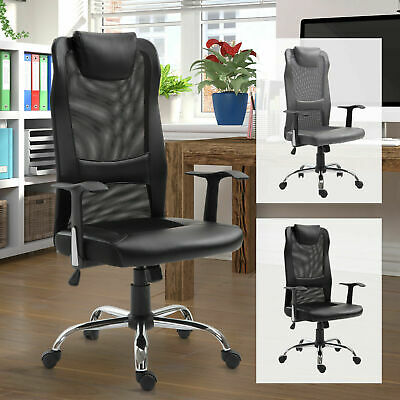 High Back Mesh Office Chair Swivel Ergonomic Task Executive Seat Adjustable