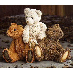 SHERRATT-SIMPSON-BEAR-TRIO-COLLECTABLE-EAN-57121-NEW