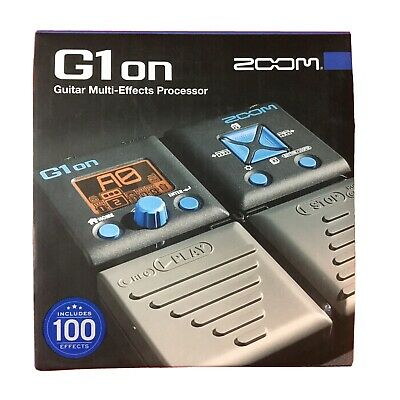 Zoom G1on Multi-Effects Guitar Effect Pedal. Never used - New in Box
