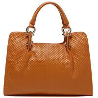 Thompson Luxury Bags ,melissa, M-marrone Rombo Borsa Di Pelle Borsa -  - ebay.it