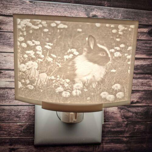 Cute Bunny Rabbit Animal Lithophane Incandescent Night Light