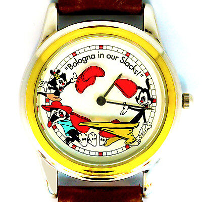 Animaniacs 'Bologna in our Slacks' Animated, W-B By Fossil, New Unworn Rare $145