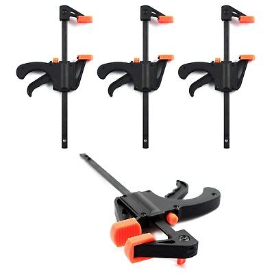 Ratchet Clamp Set - F CLAMP SPEED BAR SPREADER QUICK RELEASE RATCHET Woodworking Set 4 6 12 Inch