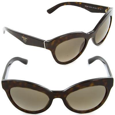 e84fbc0ed4 Prada Triangle Sunglasses SPR 23QS 2AU-3D0 Havana   Light Brown Gradient  Lens