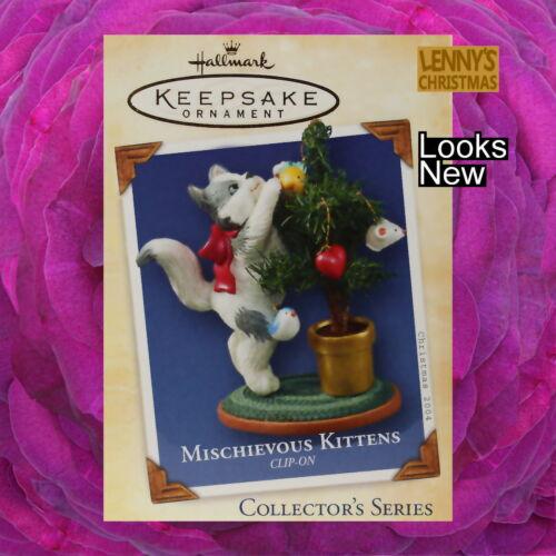 Hallmark Ornament, 2004 Mischievous Kittens, Looks New