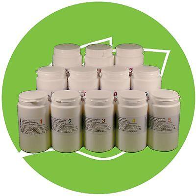 Schuessler Schüssler Salze (SCHÜSSLER SALZE SET 1 (1-12) 12 x 1000 Tabletten glutenfrei PZN 08000330)