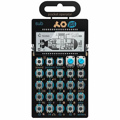 Teenage Engineering Pocket Operator PO-14 Sub - Bass Line Synthesizer And Sequen
