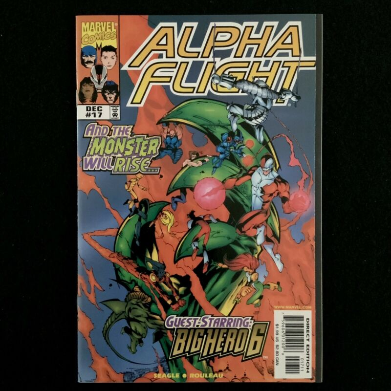 Alpha Flight Vol. 2 #17 / First Appearance of Big Hero Six (Marvel, 1998)