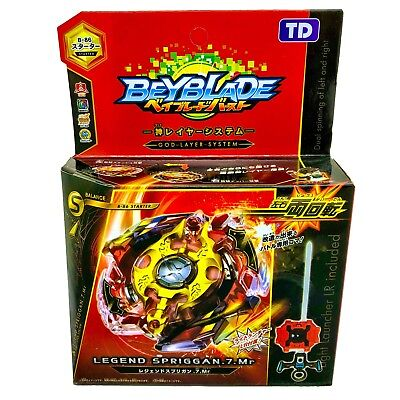 Legend Spriggan .7.MR Beyblade Burst Starter w/ Launcher B-86 USA Seller