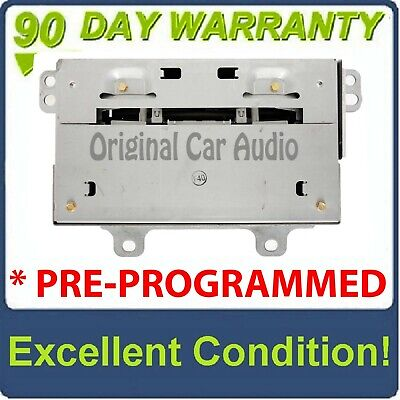 PRE-PROGRAMMED 2008 - 2013 Cadillac CTS 6 Disc CD Changer Radio Stereo XM OEM