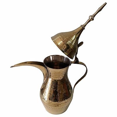 Dallah    Finjan Coffee Tea Pot Arabic Copper Pot