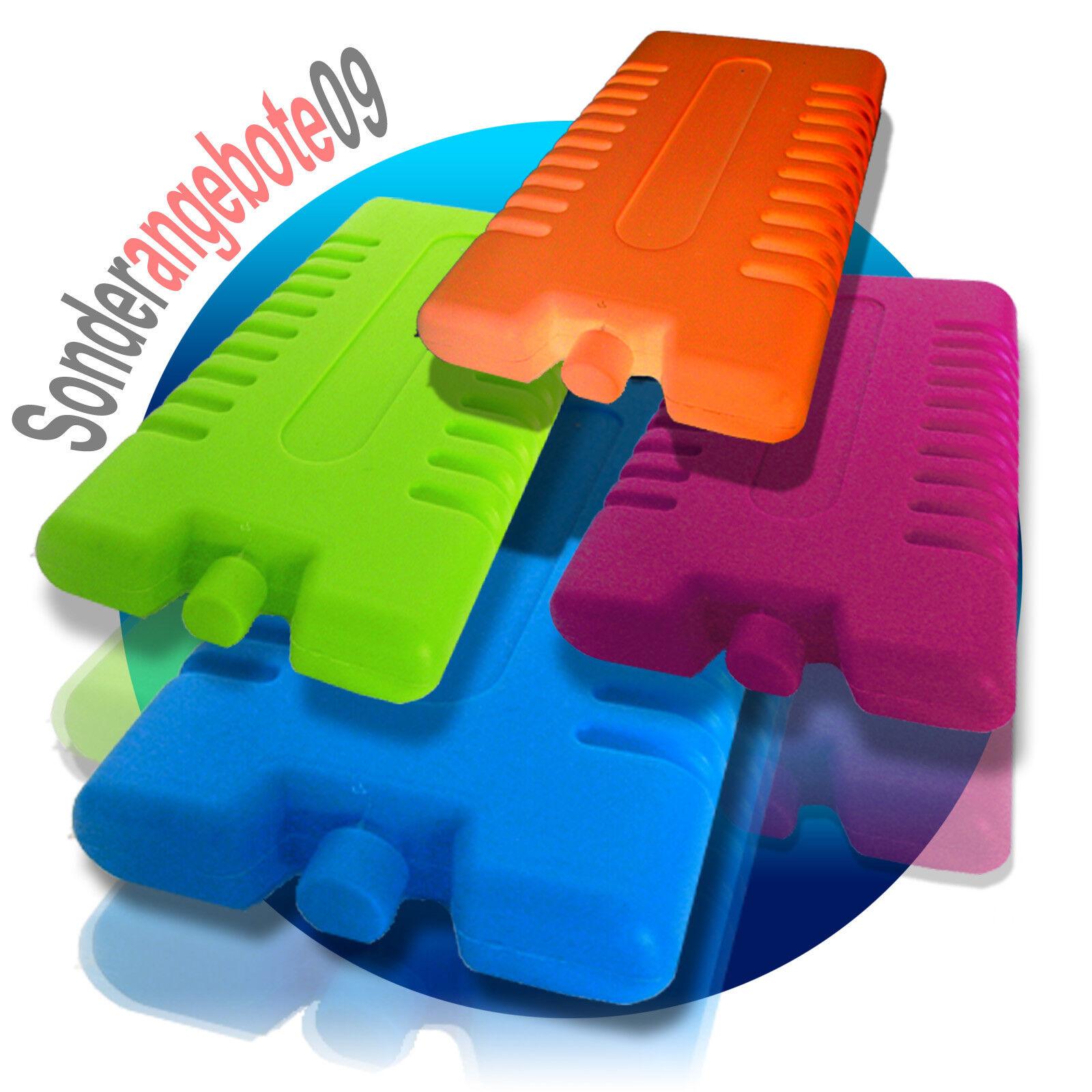 Kühlakku Kühlelemente 1-144 Stück Kühlakkus Farbauswahl 250ml 12h Eisbox COOL