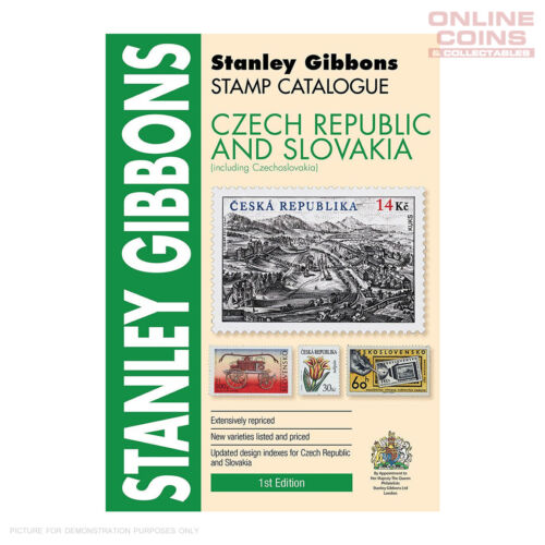 Stanley Gibbons Czech Republic & Slovakia Catalogue 1st Edition Soft Cover Book