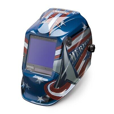 Lincoln Viking 3350 All American Welding Helmet W4c Lens K3175-4